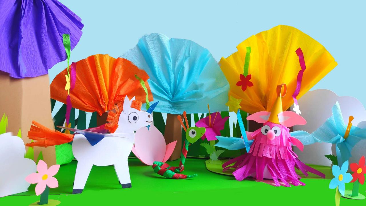Papierowy teatrzyk dla dzieci
